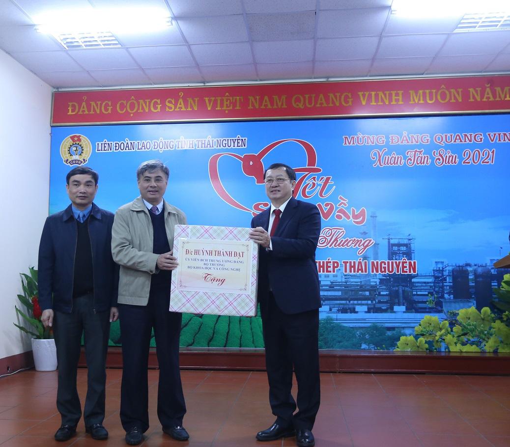 Bộ trưởng Bộ Khoa học và Công nghệ làm việc tại tỉnh Thái Nguyên - Ảnh 2.