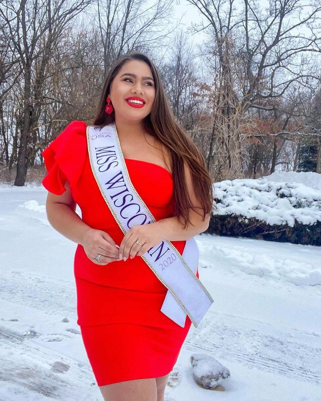 """""""Nàng béo"""" 100kg lọt top 12 Hoa hậu Trái đất Mỹ là ai? - Ảnh 5."""