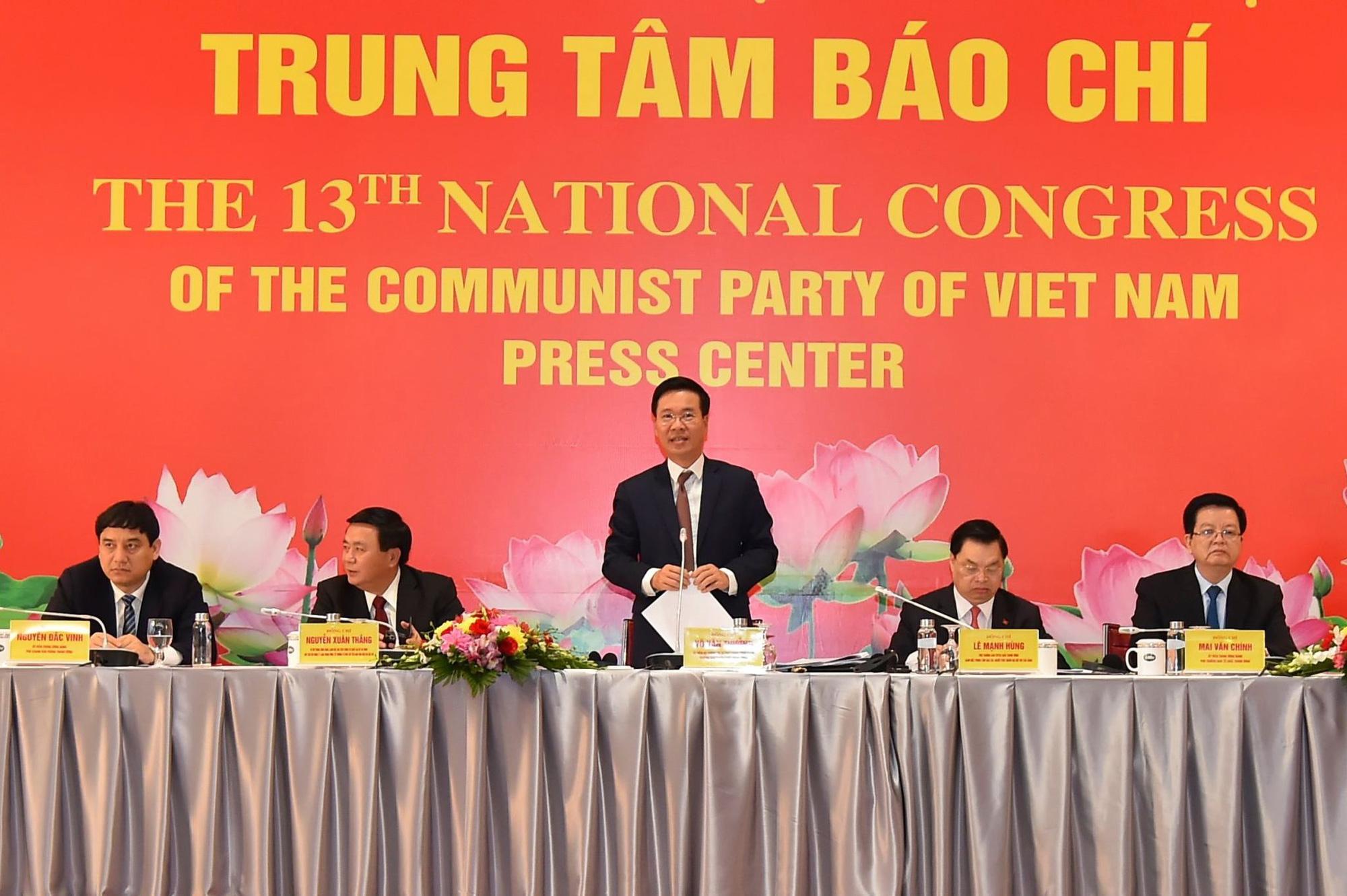 Ủy viên Bộ Chính trị Võ Văn Thưởng: Đã chuẩn bị rất kỹ cho các chức danh lãnh đạo chủ chốt của Đảng, Nhà nước - Ảnh 1.