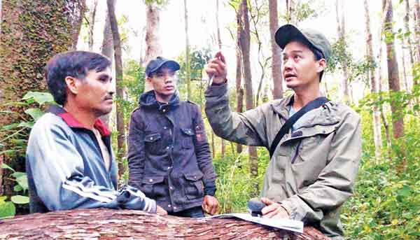 Gia Lai: Vô rừng sâu tìm đếm, lắng nghe tiếng hót mê li của loài thú đặc biệt quý hiếm này - Ảnh 2.