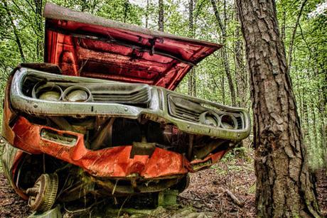 """""""Nghĩa địa"""" của những chiếc ô tô cũ lớn nhất nước Mỹ - Ảnh 4."""