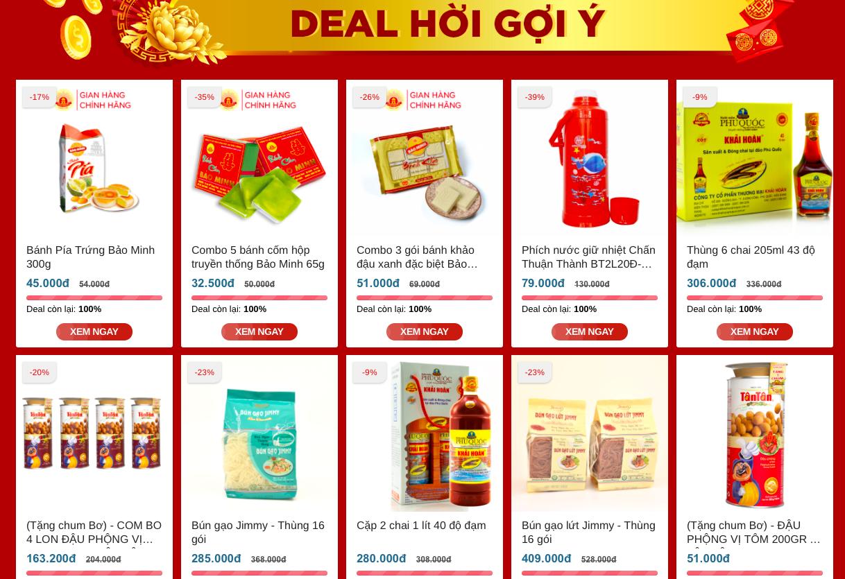 Hàng Việt có sàn thương mại điện tử riêng, vừa ra mắt đã mở ngay chợ Tết online, còn giảm giá khủng - Ảnh 1.