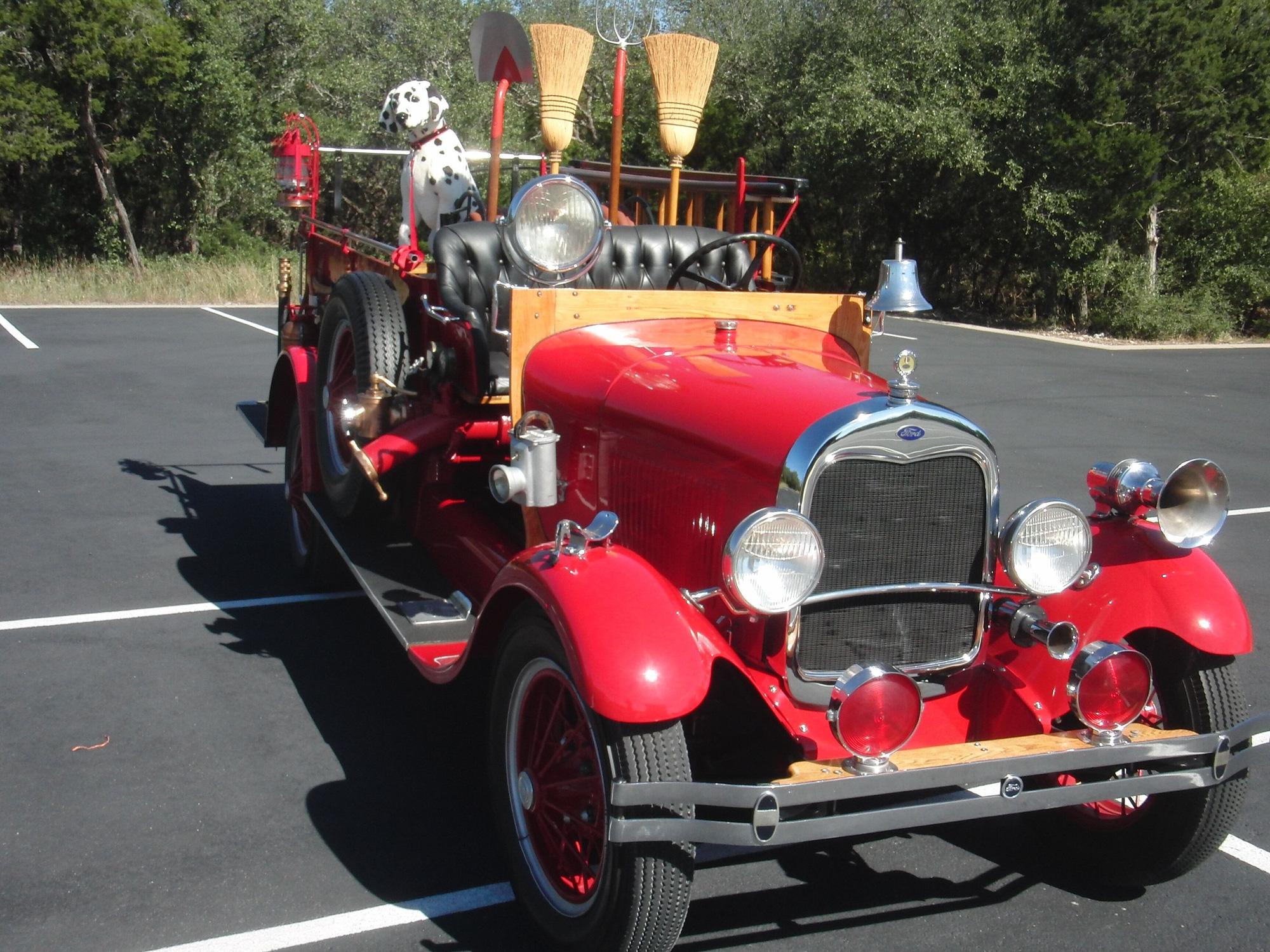 Xe cứu hỏa Ford Model AA 1928 – một huyền thoại còn sót lại - Ảnh 4.