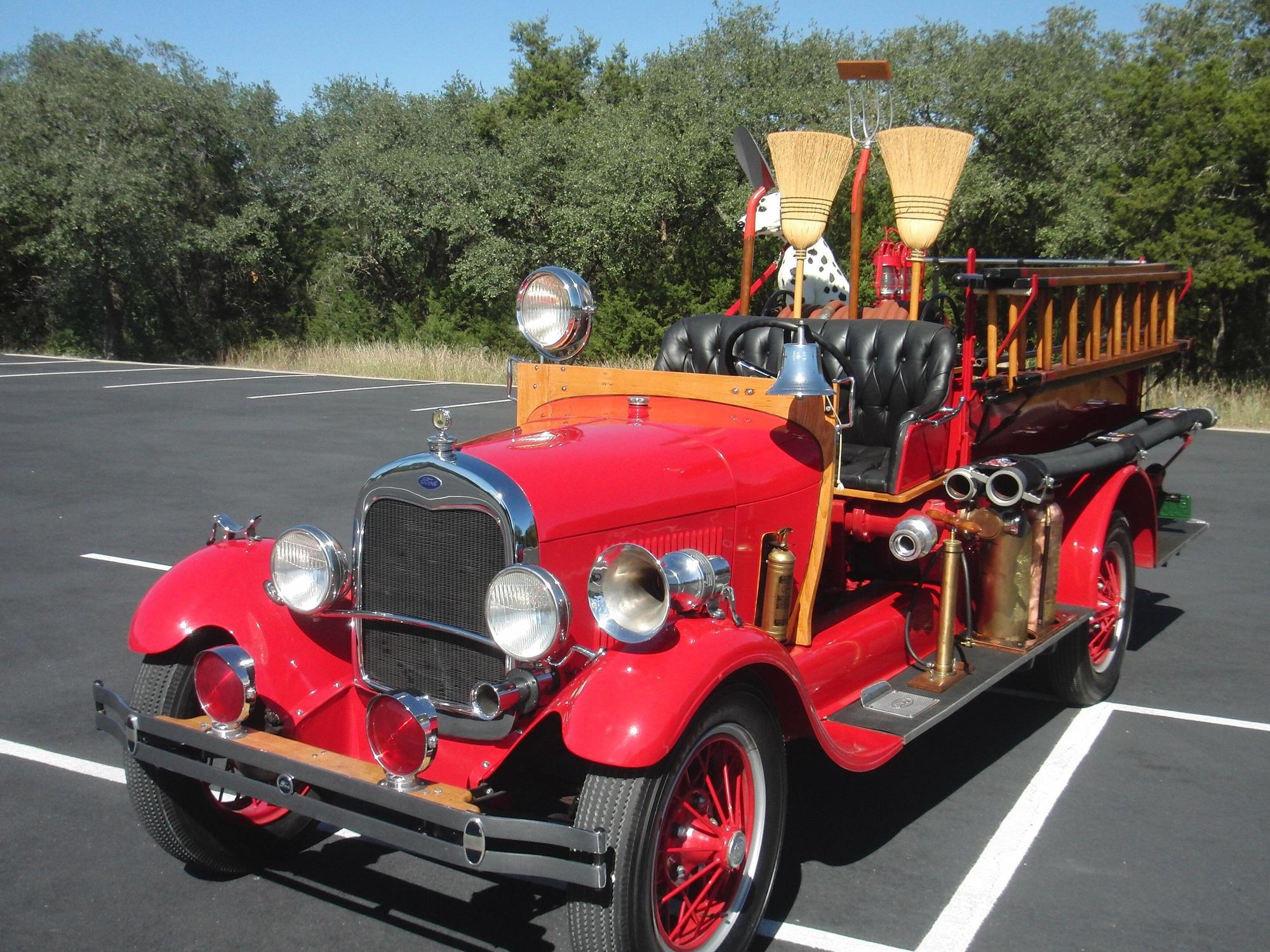 Xe cứu hỏa Ford Model AA 1928 – một huyền thoại còn sót lại - Ảnh 3.