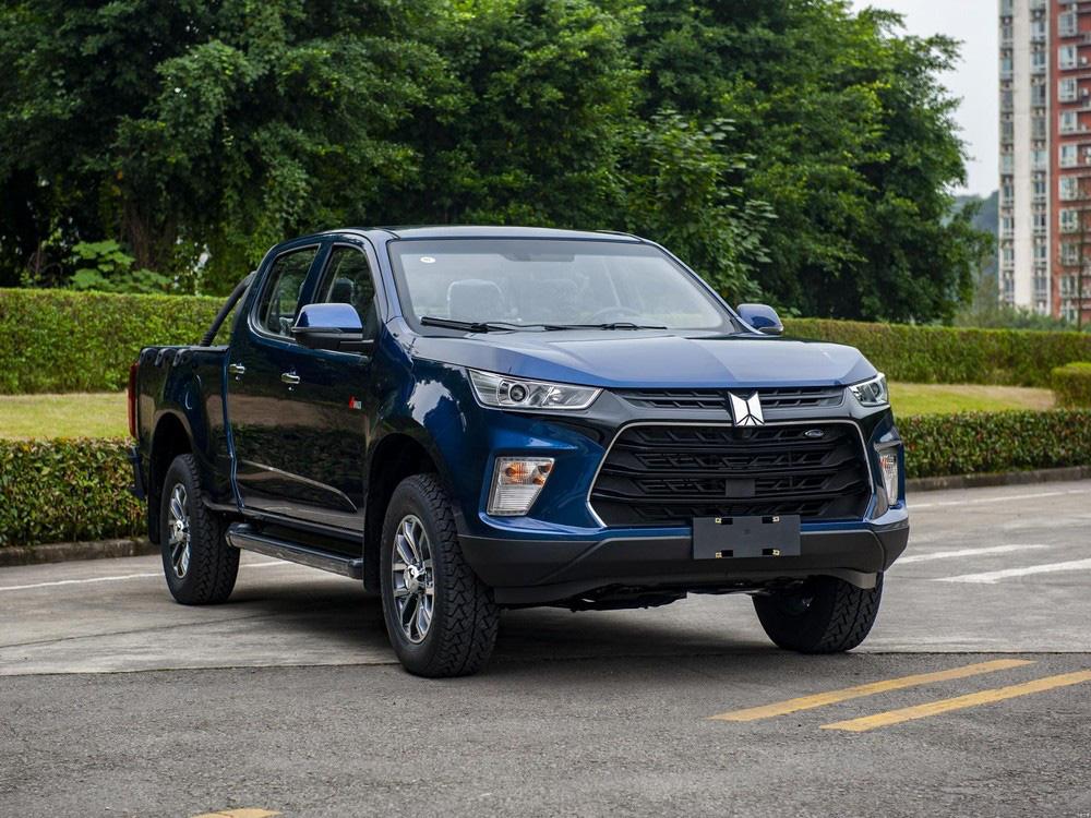 Ra mắt xe bán tải Trung Quốc Qingling to đẹp, giá cực sốc - Ảnh 1.