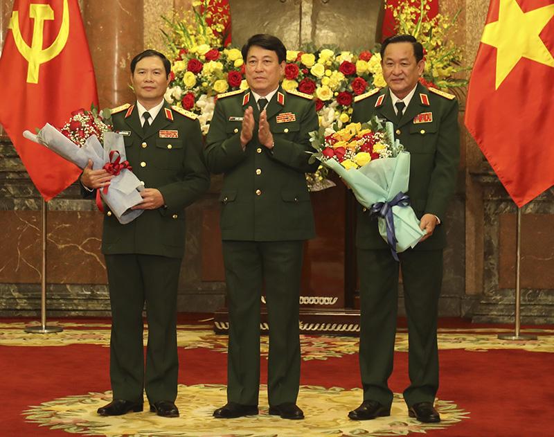 Quân đội có bao nhiêu Thượng tướng đương nhiệm sau khi 2 Thứ trưởng Bộ Quốc phòng được thăng quân hàm? - Ảnh 14.
