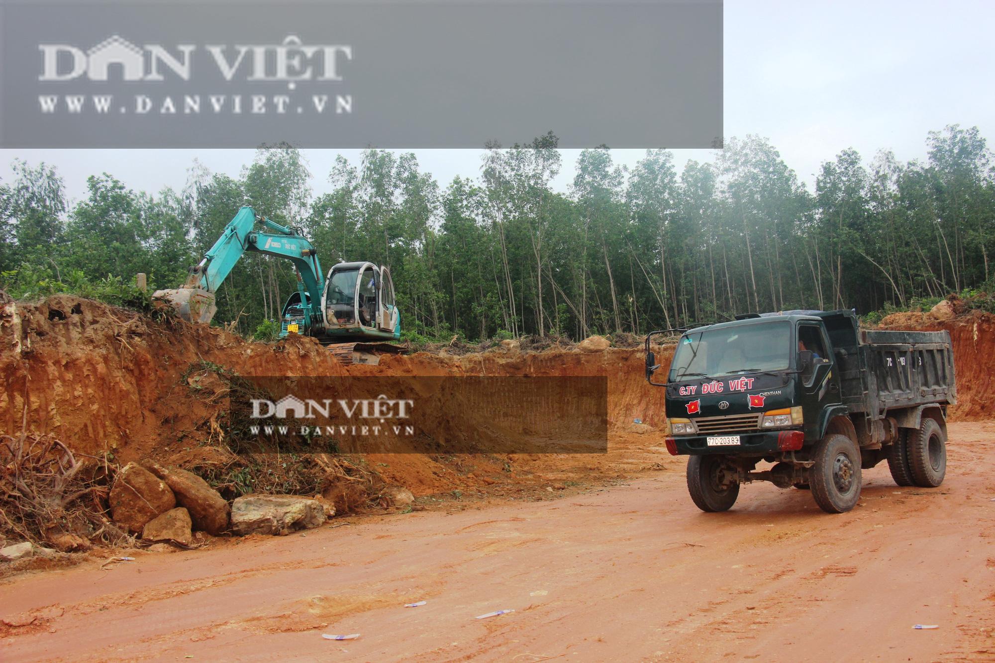 Bình Định: Bất thường thi công gói thầu Công trình nhà nước hơn 12 tỷ đồng - Ảnh 2.