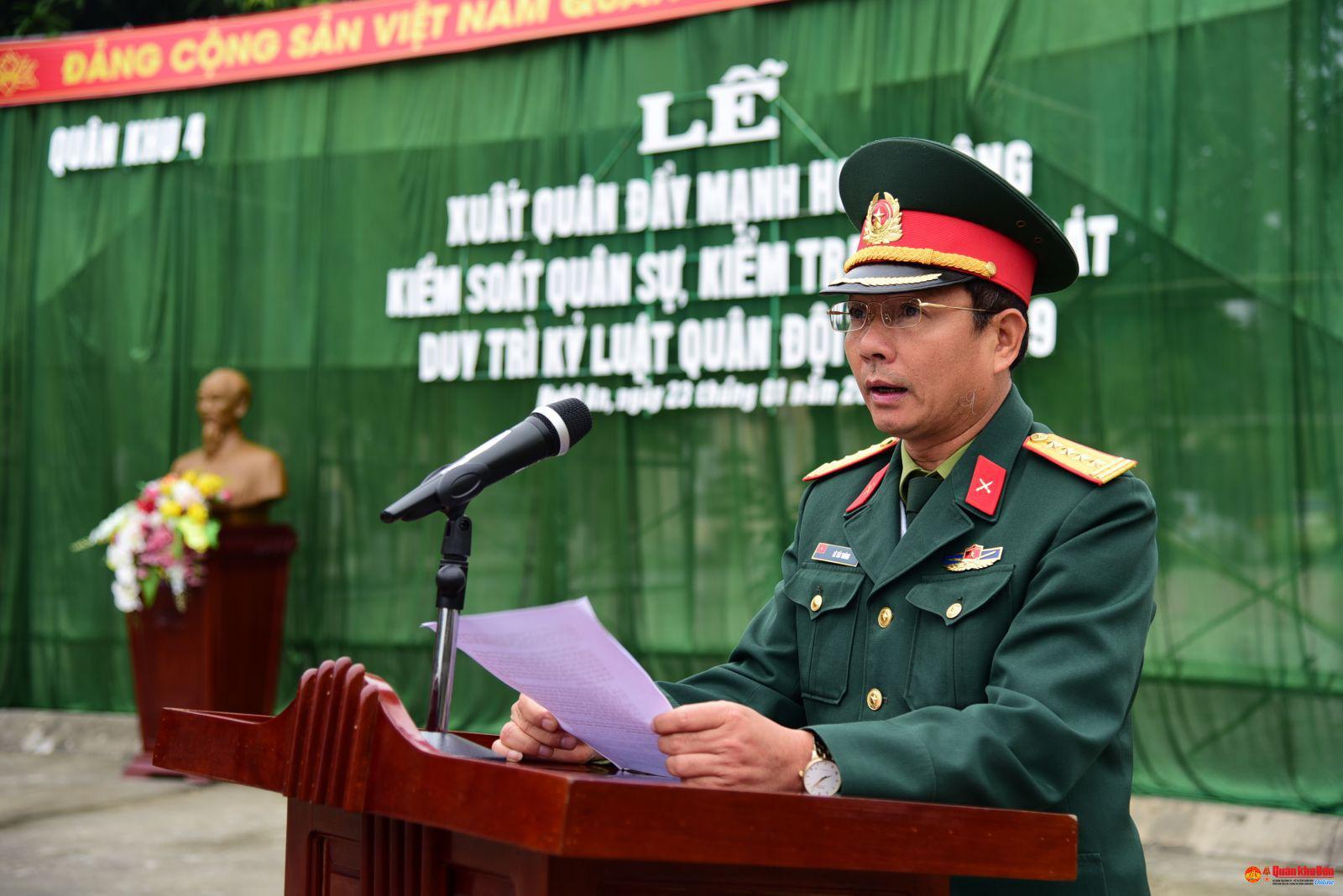 Bổ nhiệm 2 Đại tá làm Phó Tư lệnh Quân khu - Ảnh 1.
