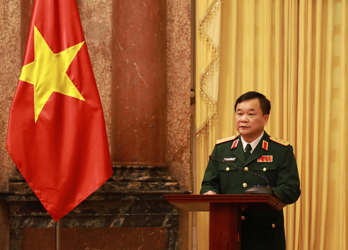 Quân đội có bao nhiêu Thượng tướng đương nhiệm sau khi 2 Thứ trưởng Bộ Quốc phòng được thăng quân hàm? - Ảnh 12.