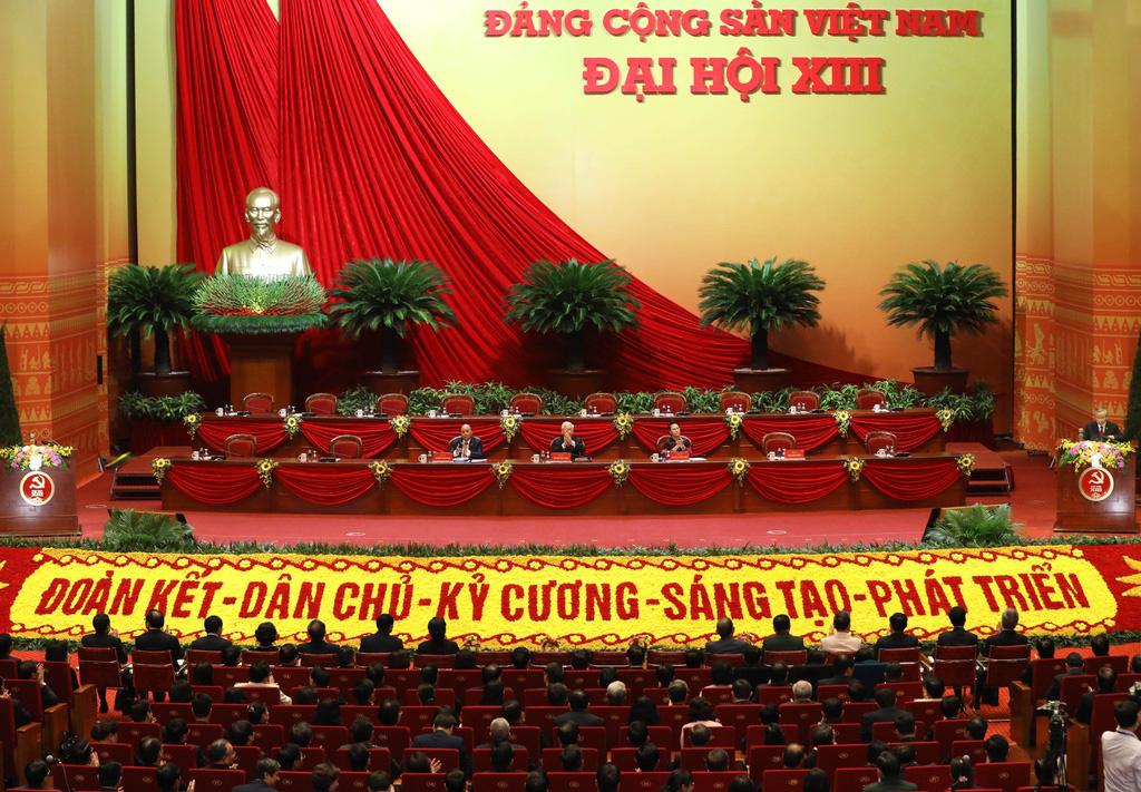 Toàn cảnh phiên trù bị Đại hội Đảng XIII - Ảnh 1.