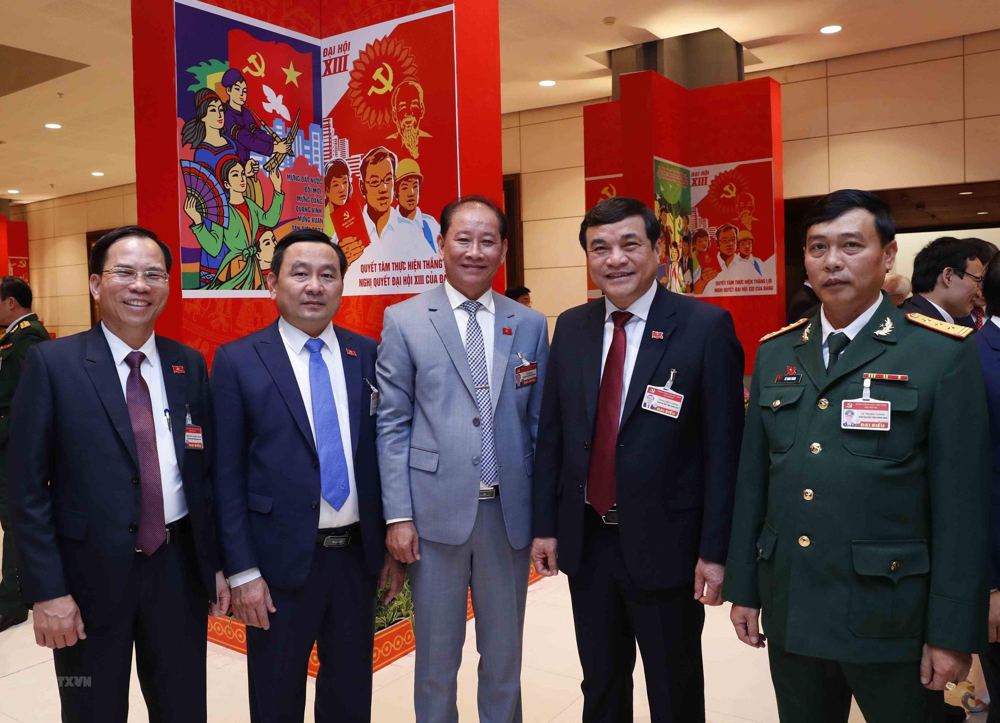 Tổng Bí thư, Chủ tịch nước dự phiên họp trù bị Đại hội Đảng XIII - Ảnh 13.