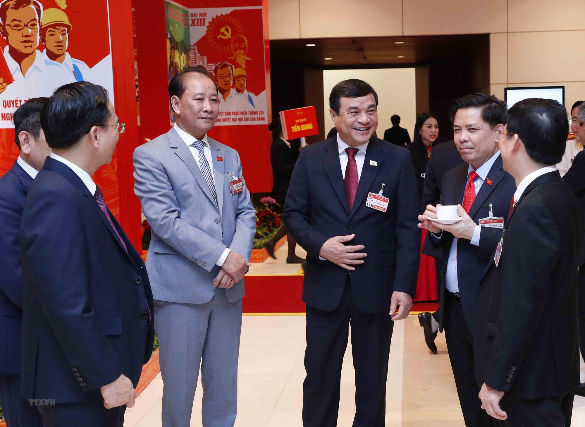 Tổng Bí thư, Chủ tịch nước dự phiên họp trù bị Đại hội Đảng XIII - Ảnh 14.