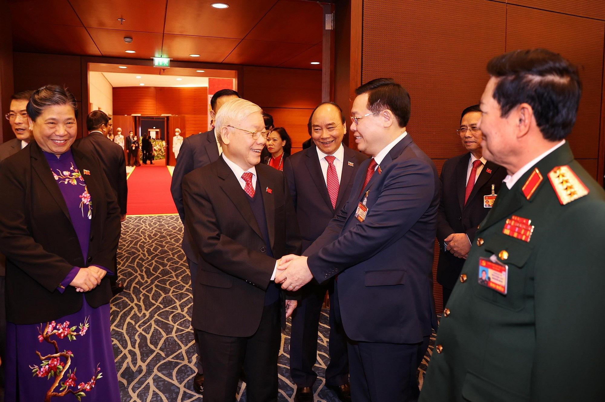 Tổng Bí thư, Chủ tịch nước dự phiên họp trù bị Đại hội Đảng XIII - Ảnh 2.