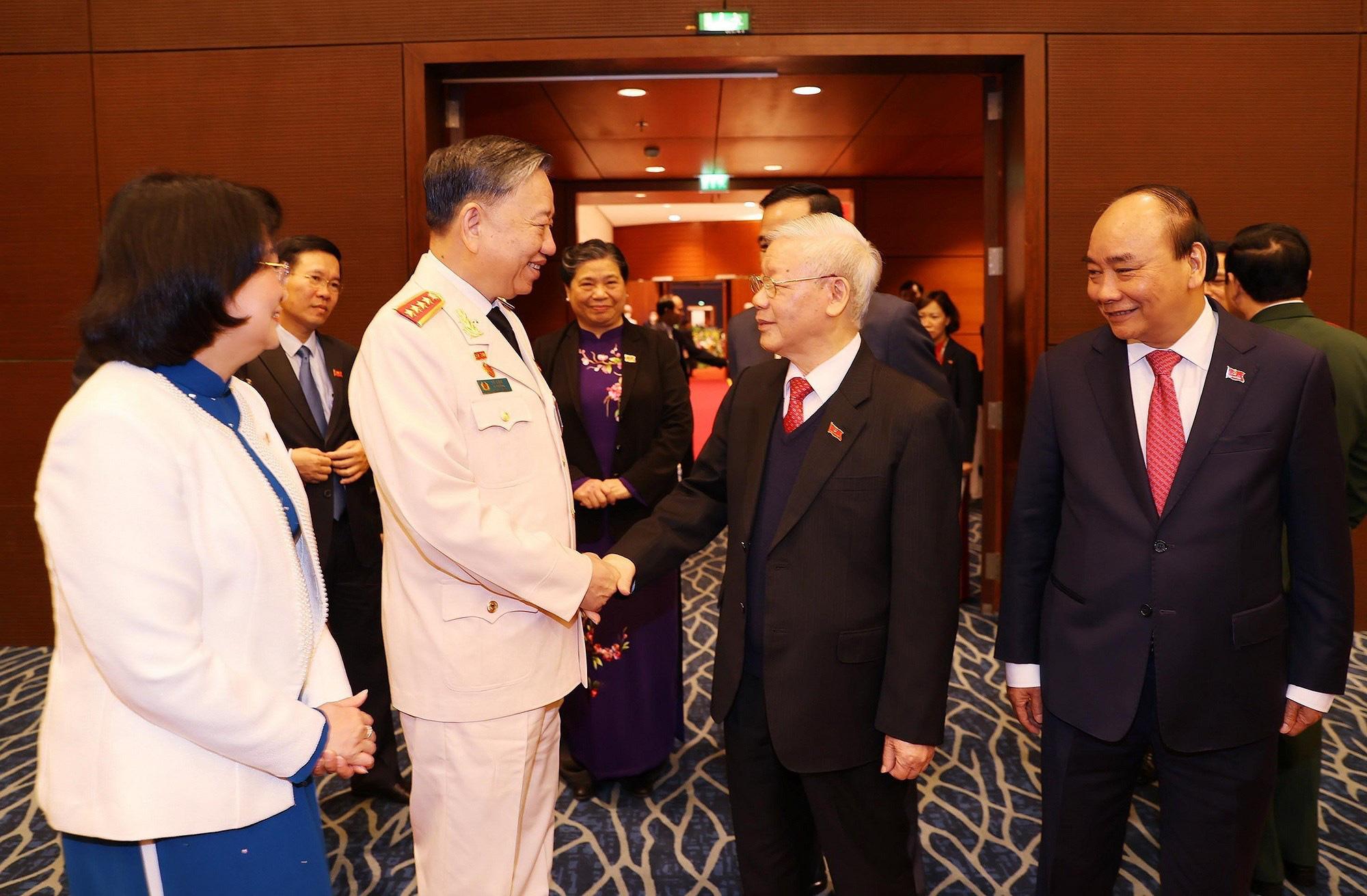 Tổng Bí thư, Chủ tịch nước dự phiên họp trù bị Đại hội Đảng XIII - Ảnh 3.