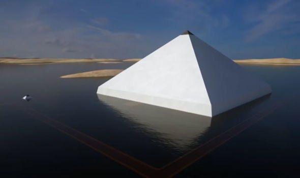 Kim tự tháp nổi đáng kinh ngạc của Ai Cập lộ ra bí mật 4.000 năm bị khóa chặt - Ảnh 3.