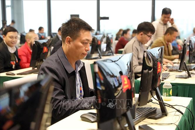 Gần 500 phóng viên, biên tập viên các cơ quan báo chí trực tiếp đưa tin Đại hội XIII của Đảng - Ảnh 5.