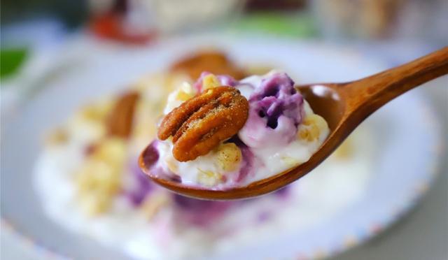 Món ăn giảm cân tuyệt vời chỉ bằng 1 củ khoai lang tím - Ảnh 2.