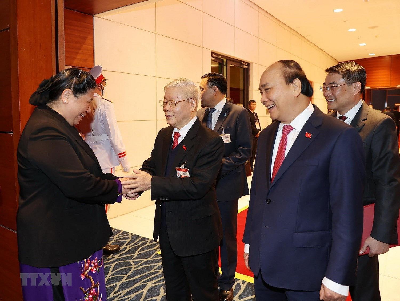 Tổng Bí thư, Chủ tịch nước dự phiên họp trù bị Đại hội Đảng XIII - Ảnh 6.