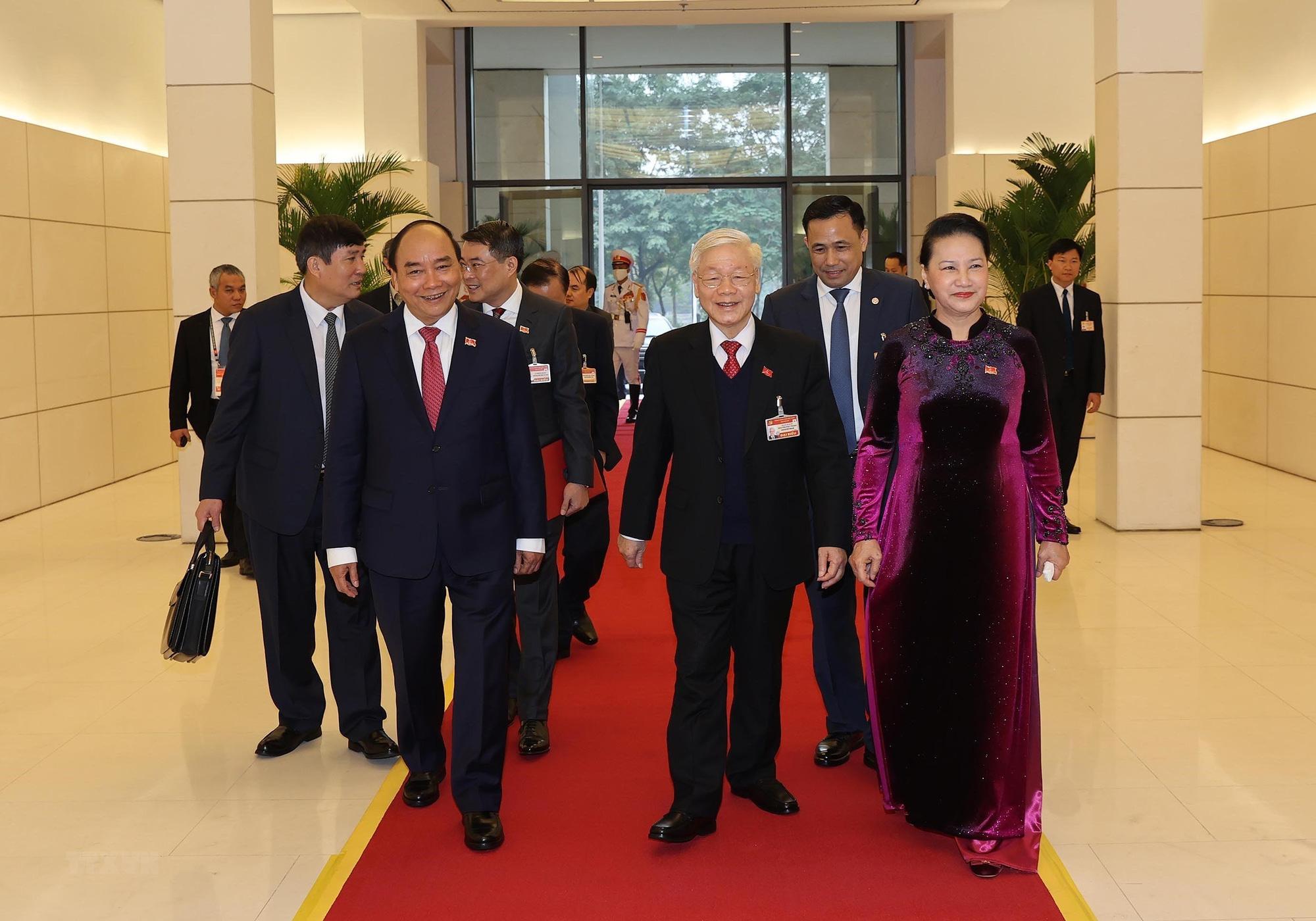 Tổng Bí thư, Chủ tịch nước dự phiên họp trù bị Đại hội Đảng XIII - Ảnh 7.