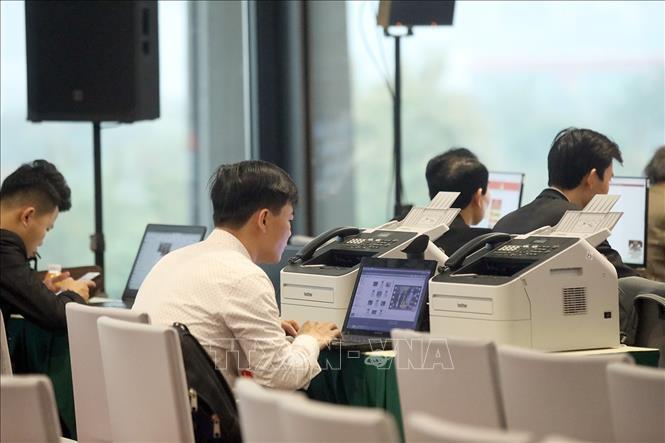 Gần 500 phóng viên, biên tập viên các cơ quan báo chí trực tiếp đưa tin Đại hội XIII của Đảng - Ảnh 7.