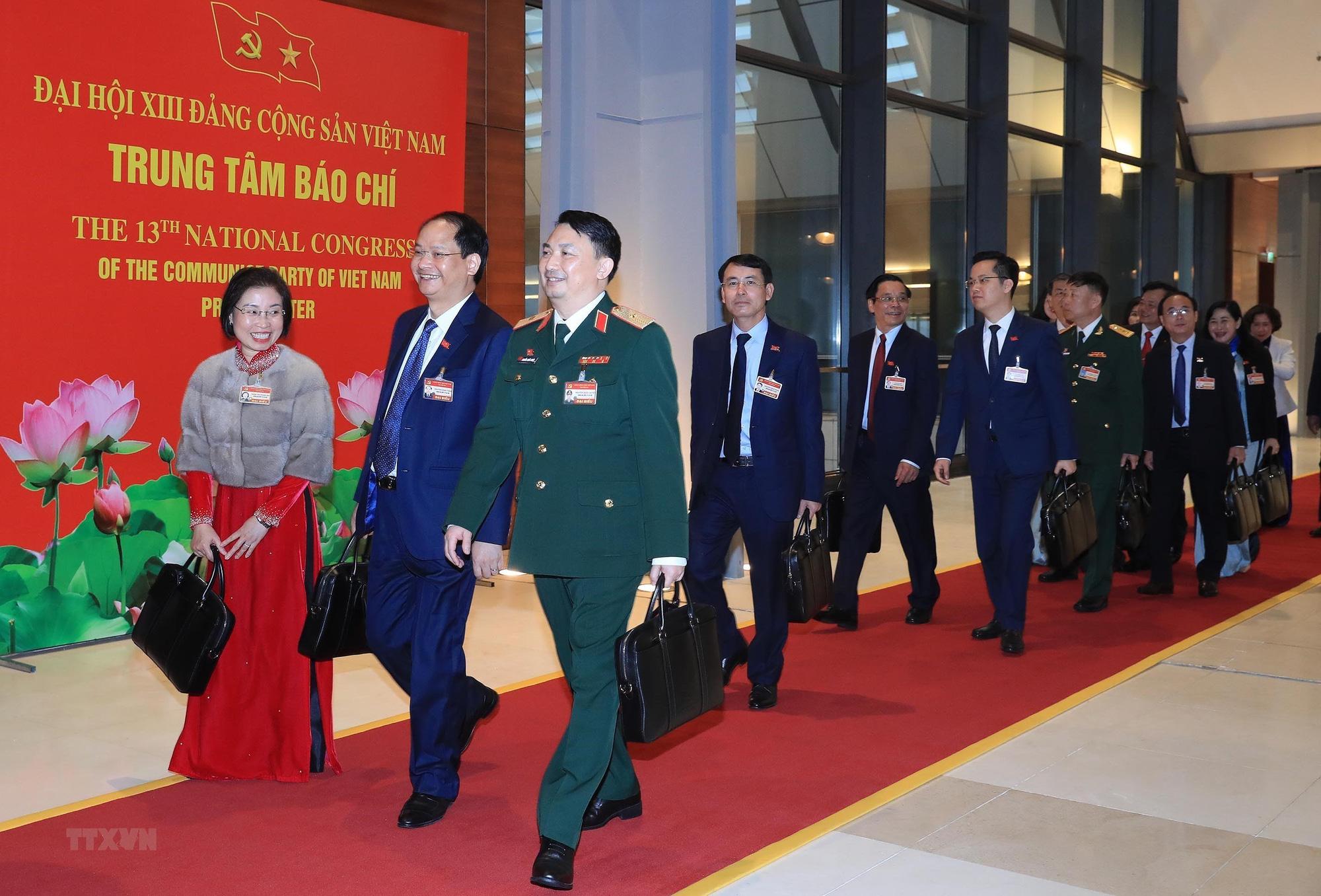 Tổng Bí thư, Chủ tịch nước dự phiên họp trù bị Đại hội Đảng XIII - Ảnh 9.