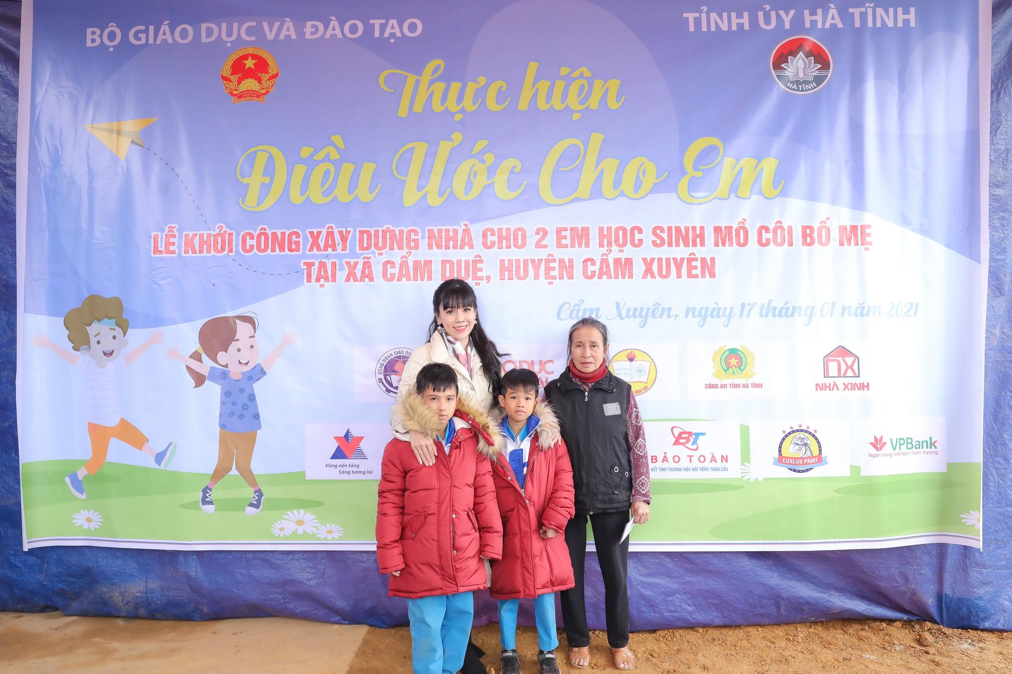 """Hoa hậu Doanh nhân Phạm Bích Thủy chung tay viết nên """"Điều ước cho em"""" - Ảnh 2."""