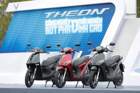 VinFast Theon và Feliz tạo nên chuẩn mực mới cho xe máy điện - Ảnh 1.