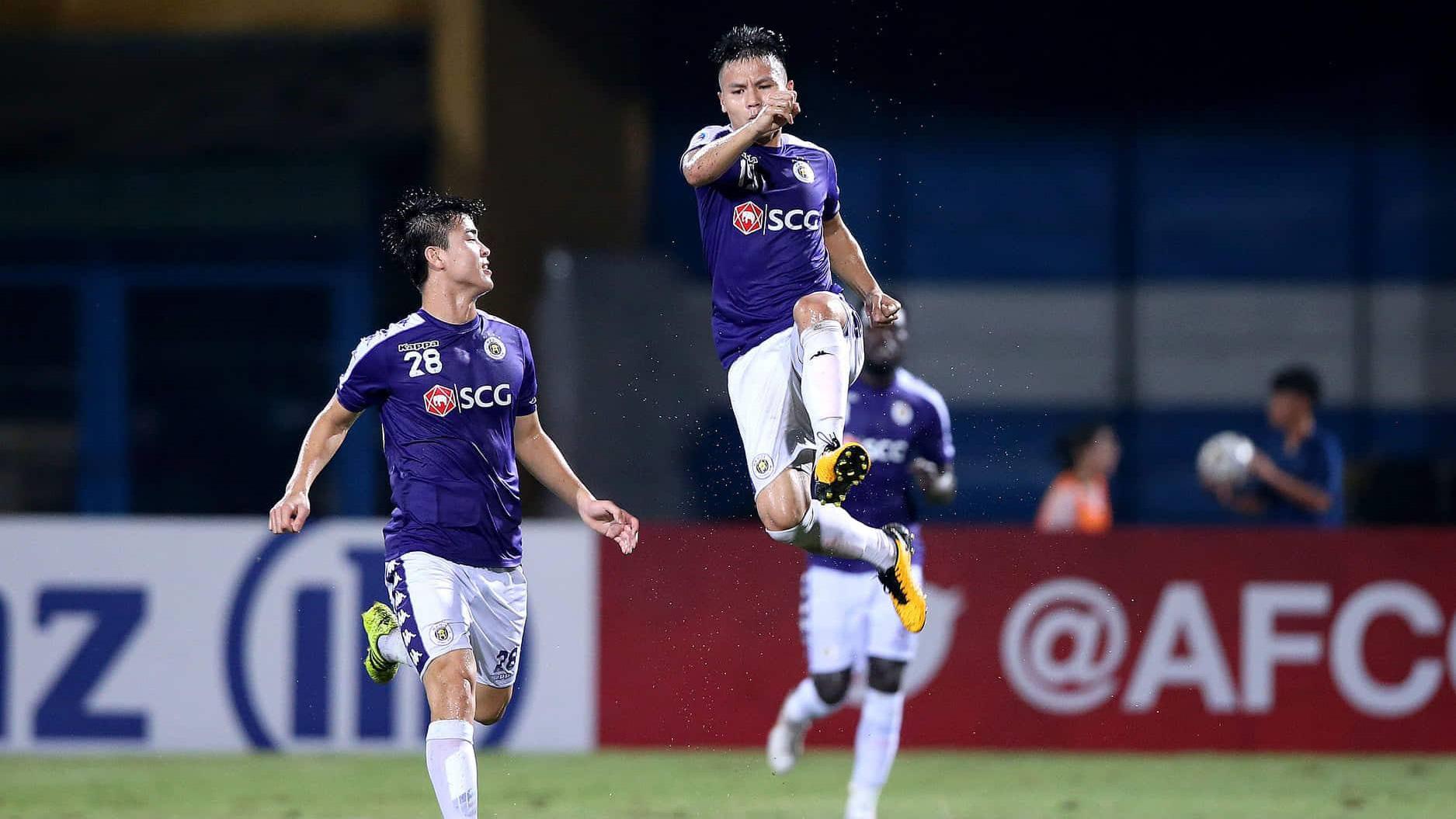Quang Hải muốn cùng Hà Nội FC bay cao trên đấu trường AFC Cup.