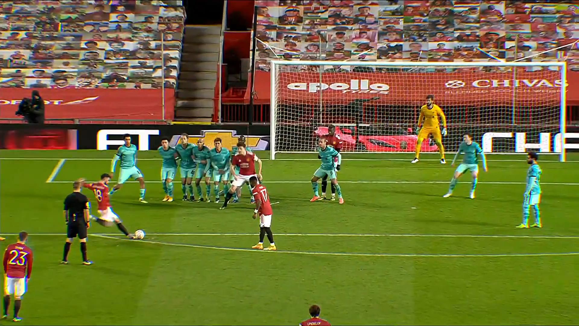 Highlight: Bruno Fernandes ghi siêu phẩm sút phạt, Man Utd đá văng Liverpool khỏi FA Cup - Ảnh 5.