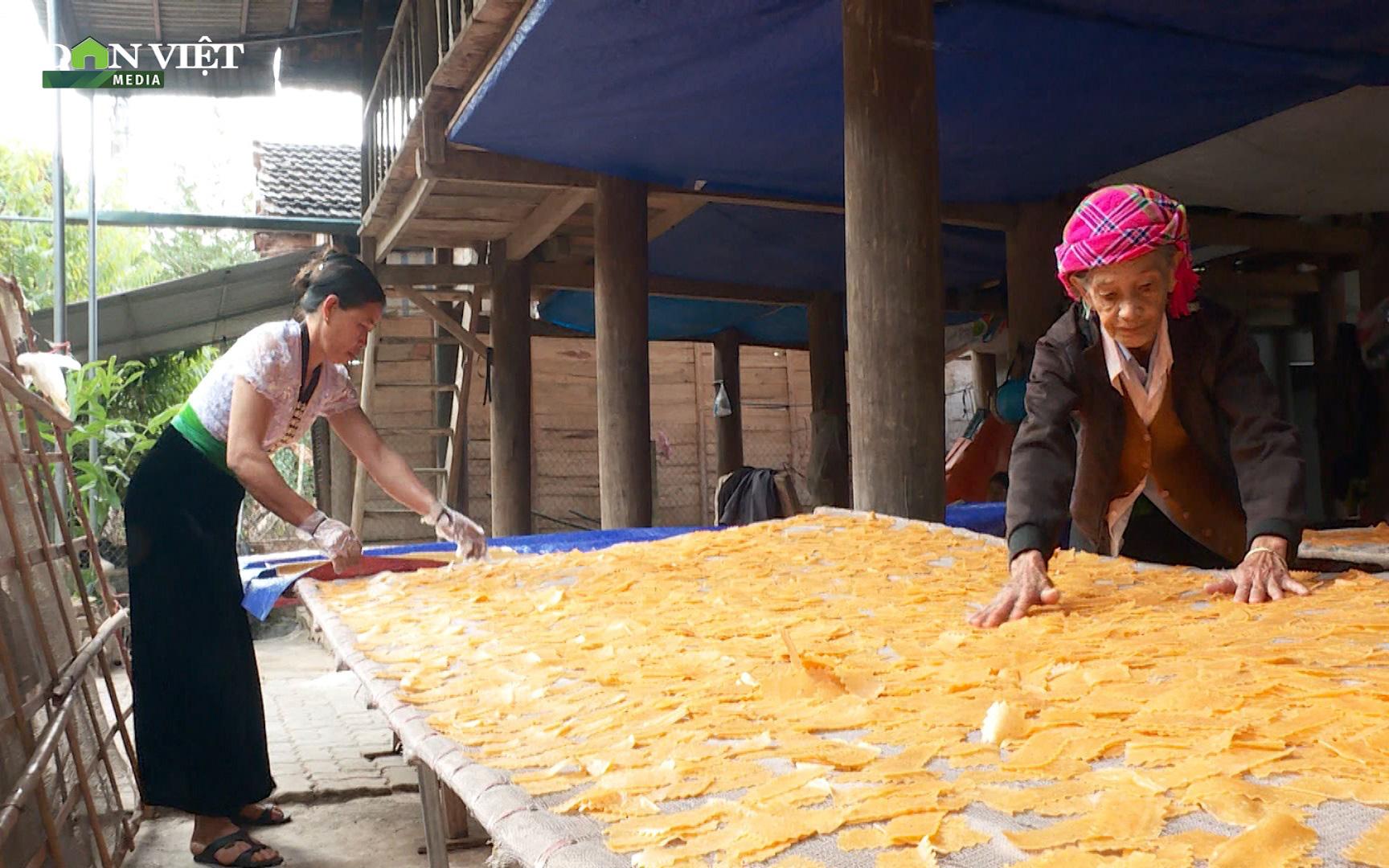 Điện Biên: Khẩu xén, khẩu chí chọp - đặc sản hương vị tết của đồng bào Thái trắng - Ảnh 3.