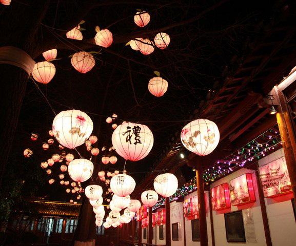 Rực rỡ sắc màu với lễ hội đèn lồng Tần Hoài trong dịp Tết Nguyên Đán - Ảnh 6.