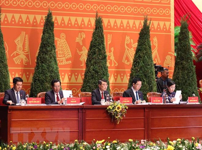 Chánh Văn phòng T.Ư Lê Minh Hưng và 4 Ủy viên Trung ương Đảng được bầu Đoàn Thư ký Đại hội XIII - Ảnh 1.