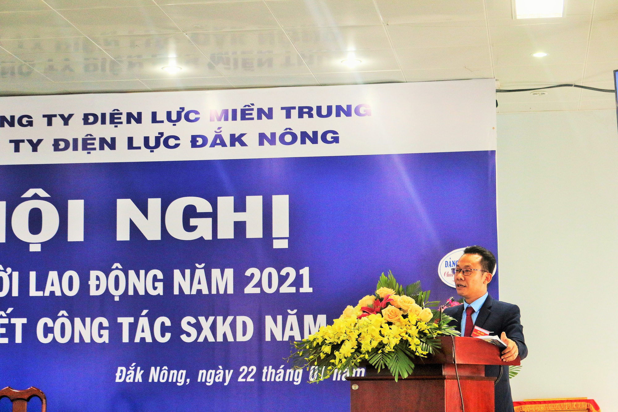 PC Đắk Nông: Hội nghị đại biểu Người lao động năm 2021 thành công tốt đẹp - Ảnh 3.