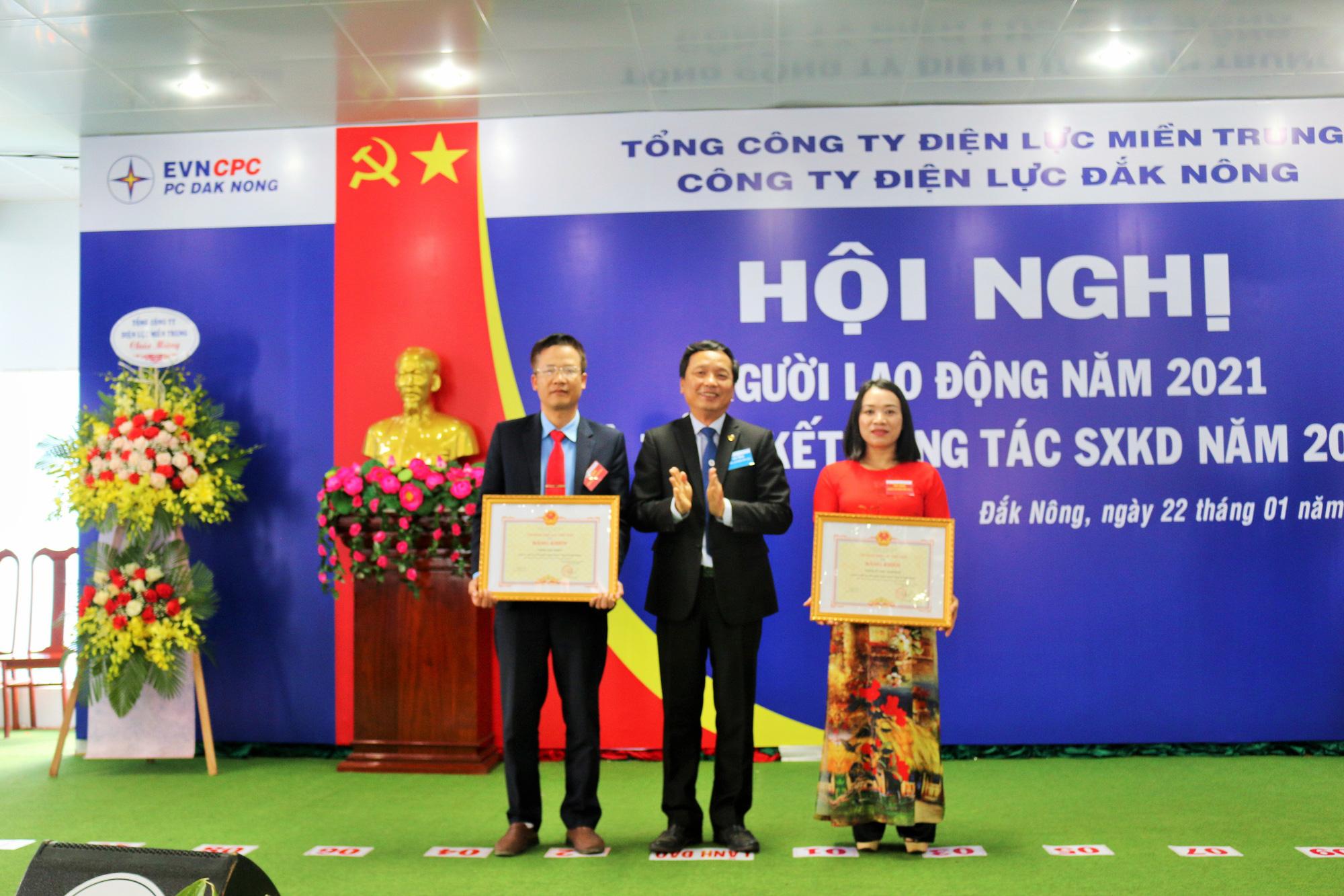 PC Đắk Nông: Hội nghị đại biểu Người lao động năm 2021 thành công tốt đẹp - Ảnh 2.