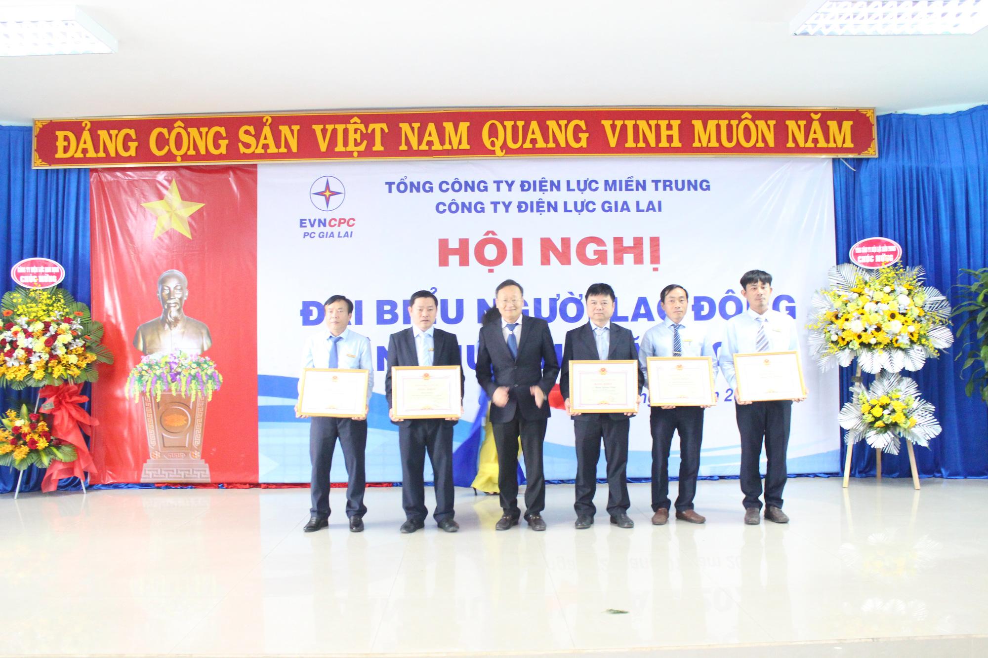 Công ty Điện lực Gia Lai: Tổ chức Hội nghị đại biểu người lao động và triển khai nhiệm vụ năm 2021 - Ảnh 3.