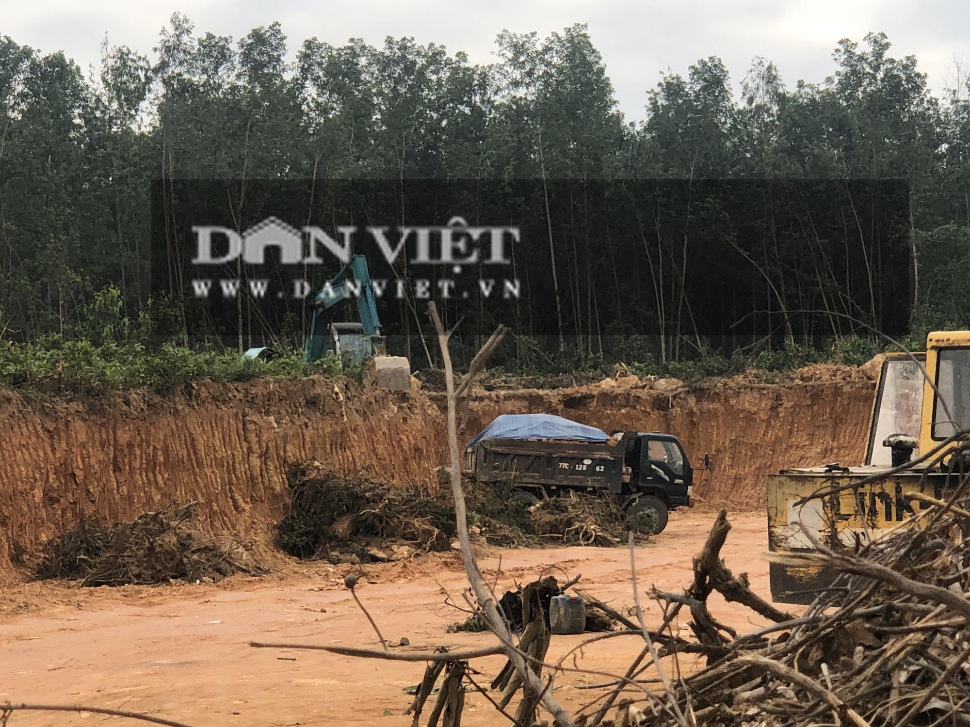 """Bình Định: """"Hé lộ"""" đường đi đất """"lậu"""" tuồn về công trình nhà nước - Ảnh 7."""