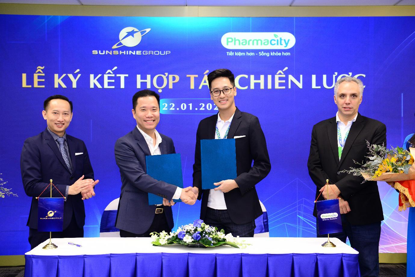 Sunshine Group hợp tác chiến lược với Pharmacity - Ảnh 1.