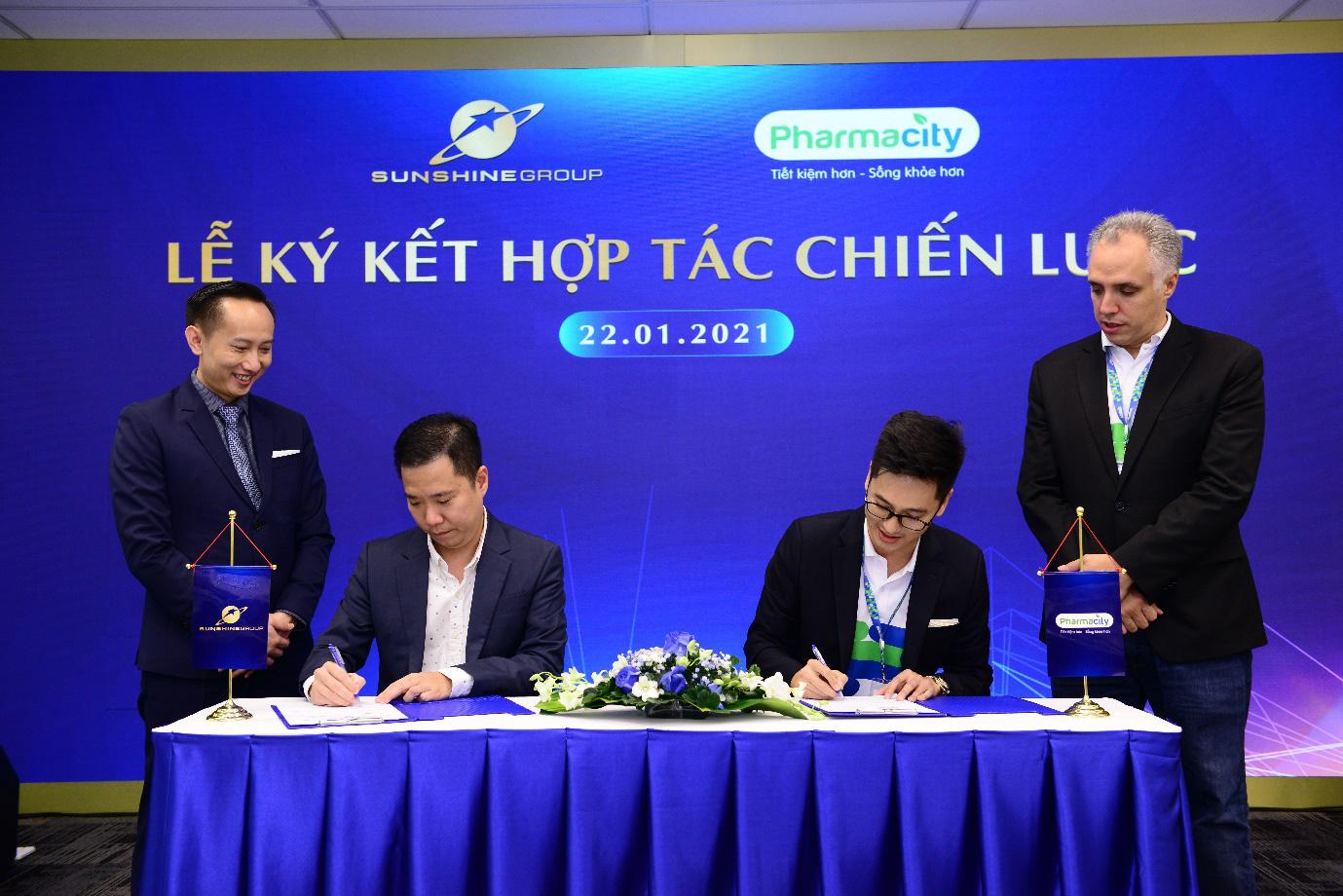 Sunshine Group hợp tác chiến lược với Pharmacity - Ảnh 2.