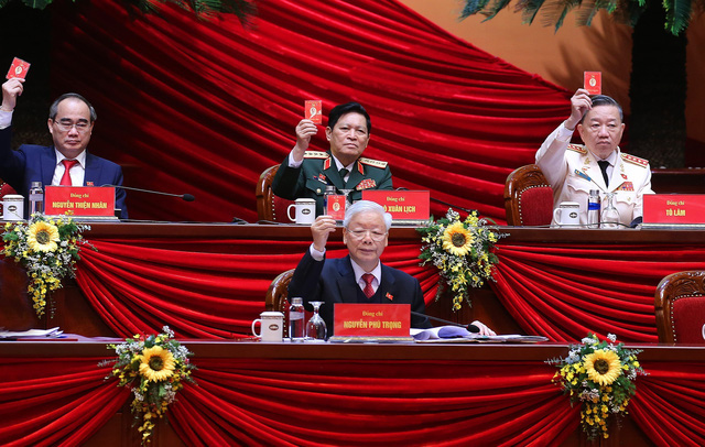 TRỰC TIẾP: Khai mạc Đại hội XIII của Đảng - Ảnh 1.