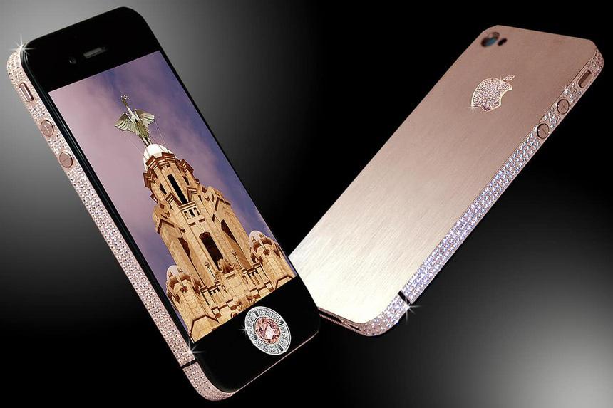 Cận cảnh dàn iPhone chỉ dành cho giới siêu giàu - Ảnh 5.