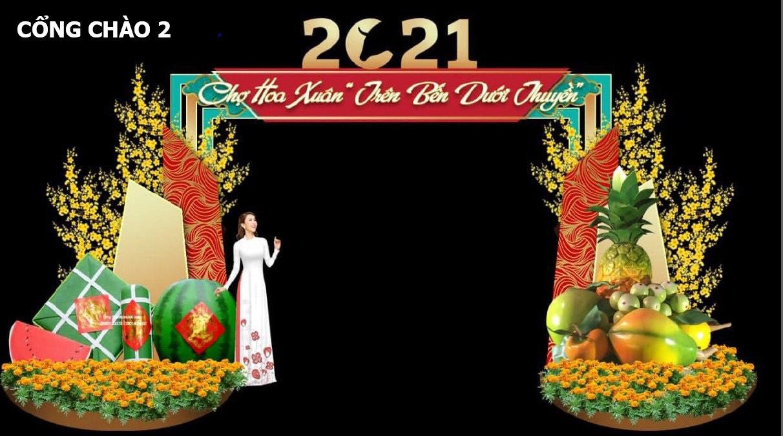 """TP.HCM: Chợ hoa Xuân """"trên bến dưới thuyền"""" được đưa vào chuỗi sự kiện văn hoá lễ hội tiêu biểu  - Ảnh 2."""