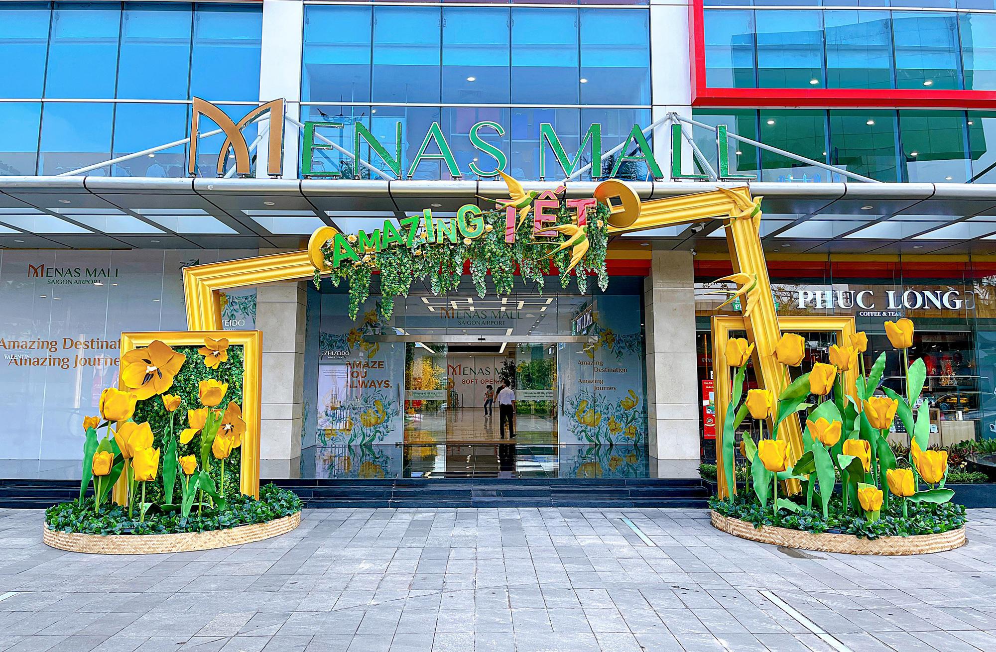 Amazing Tết - Đón năm mới diệu kỳ tại Menas Mall Saigon Airport - Ảnh 4.