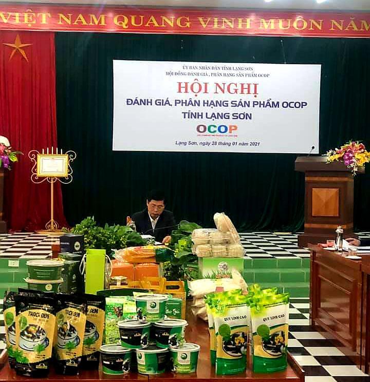 Lạng Sơn: Gắn sao OCOP cho 20 sản phẩm đặc sản đặc trưng xứ Lạng - Ảnh 1.