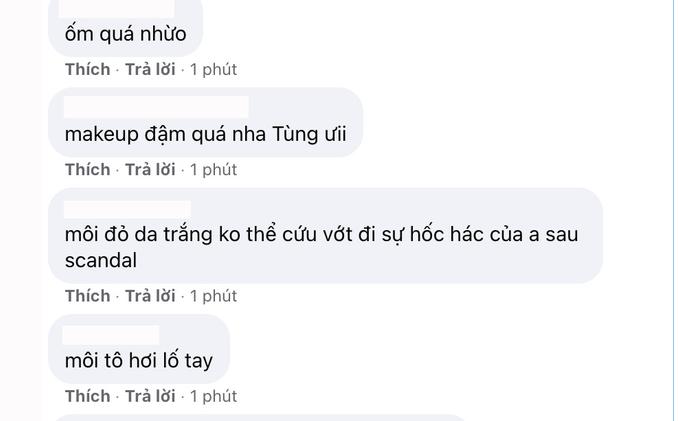 """Sơn Tùng M-TP bị soi trang điểm """"quá lố"""" giữa nghi vấn chia tay Thiều Bảo Trâm vì """"trà xanh"""" - Ảnh 2."""
