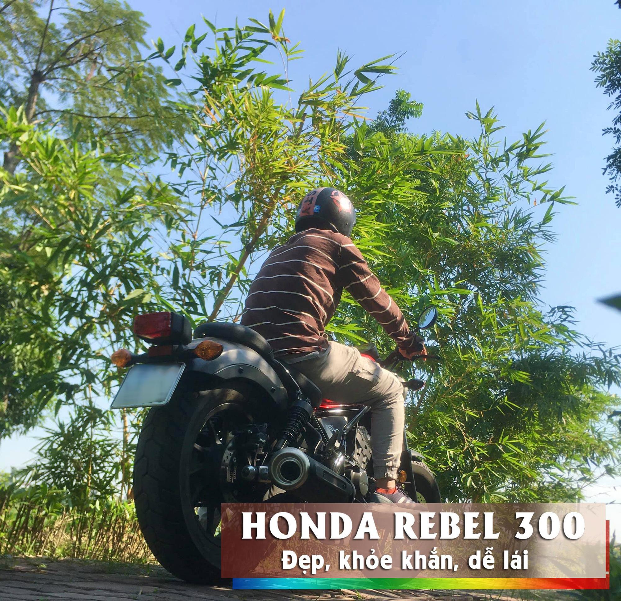 Phóng viên 8x với đam mê huyền thoại Honda Rebel 300  - Ảnh 5.