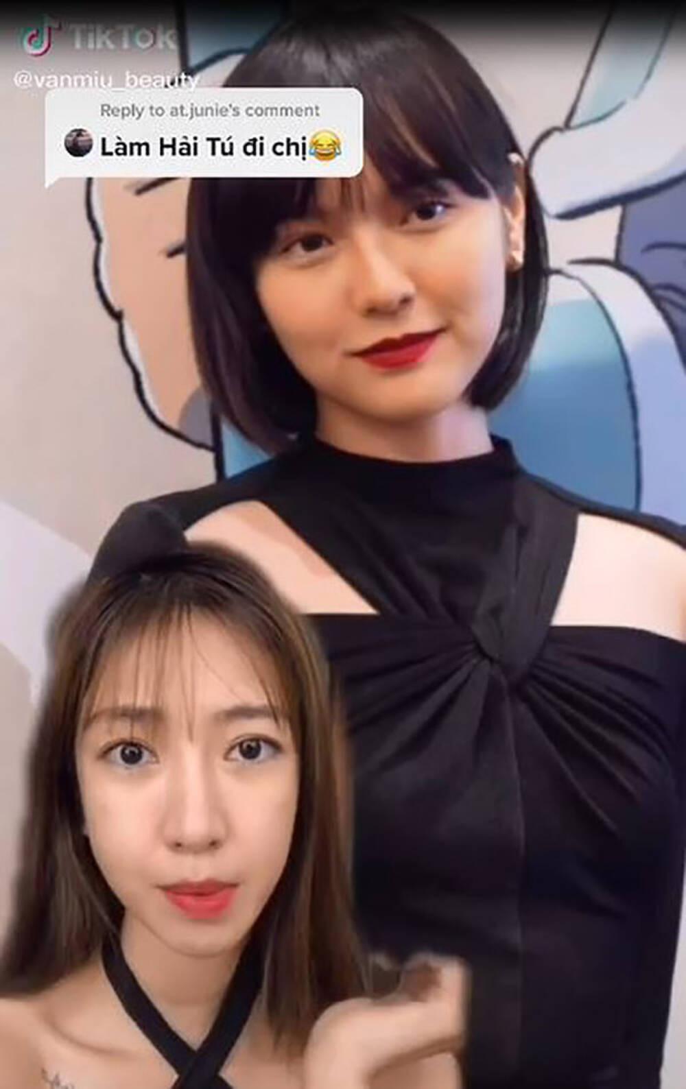 Clip: Cô gái makeup biến hình thành Hải Tú khiến cư dân mạng kinh ngạc - Ảnh 2.