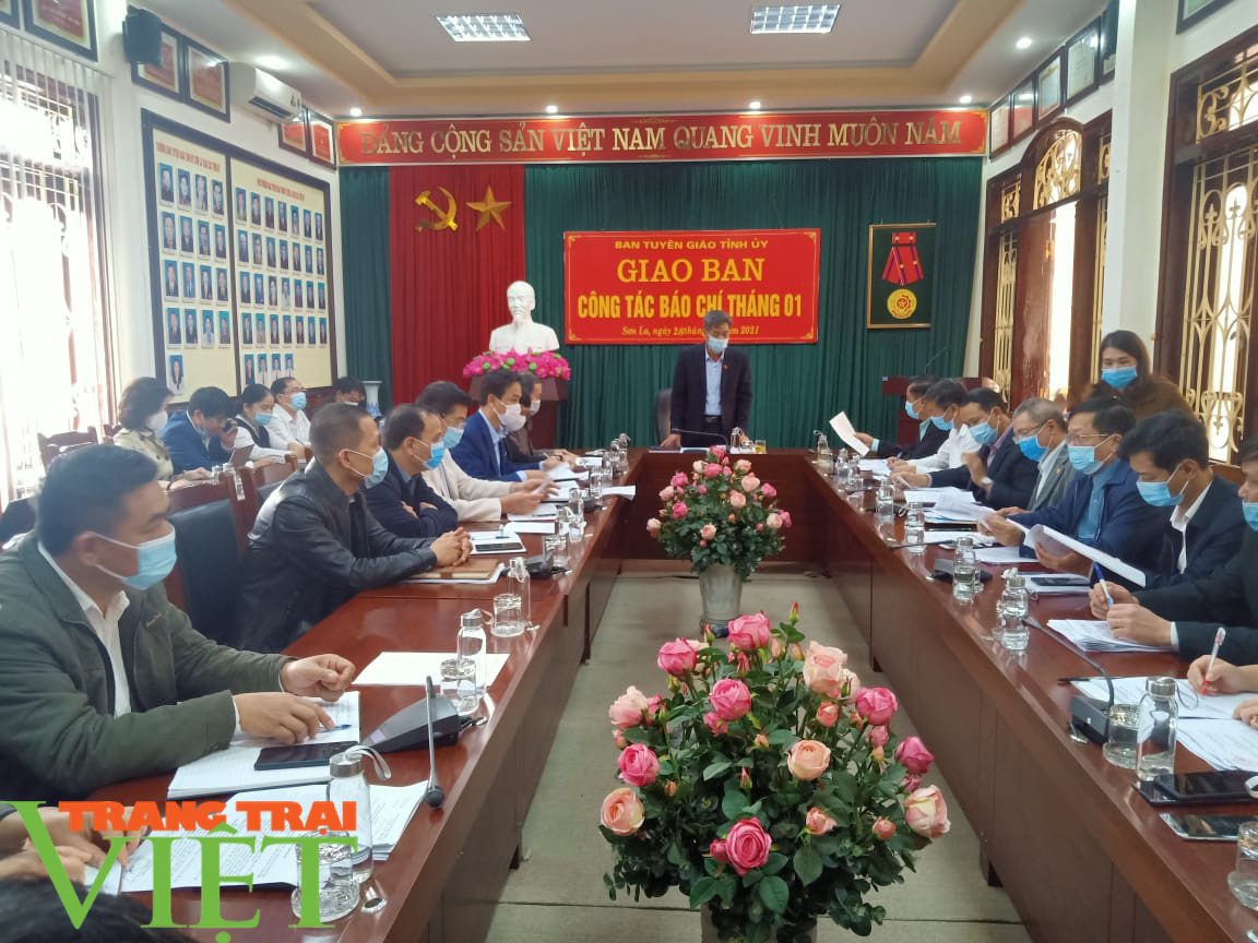 Sơn La họp khẩn triển khai các giải pháp phòng, chống dịch Covid-19 - Ảnh 3.