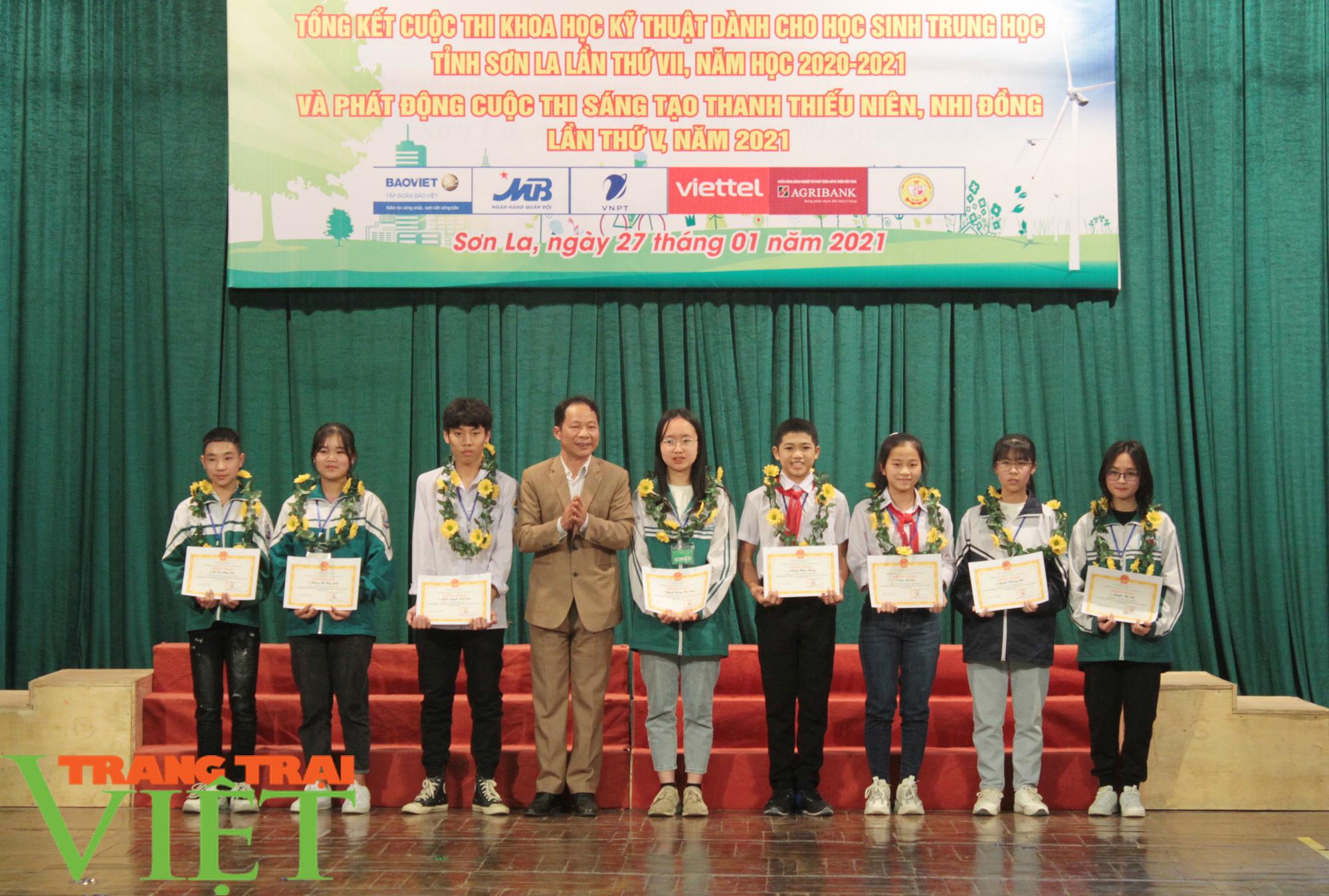 Sơn La: 81 dựa án đoạt giải Cuộc thi khoa học kỹ thuật cấp tỉnh - Ảnh 2.