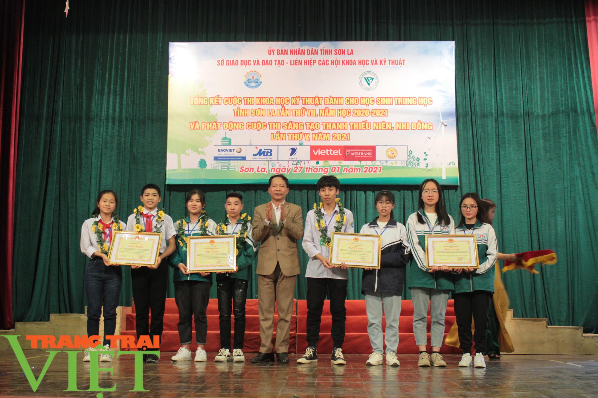 Sơn La: 81 dựa án đoạt giải Cuộc thi khoa học kỹ thuật cấp tỉnh - Ảnh 1.