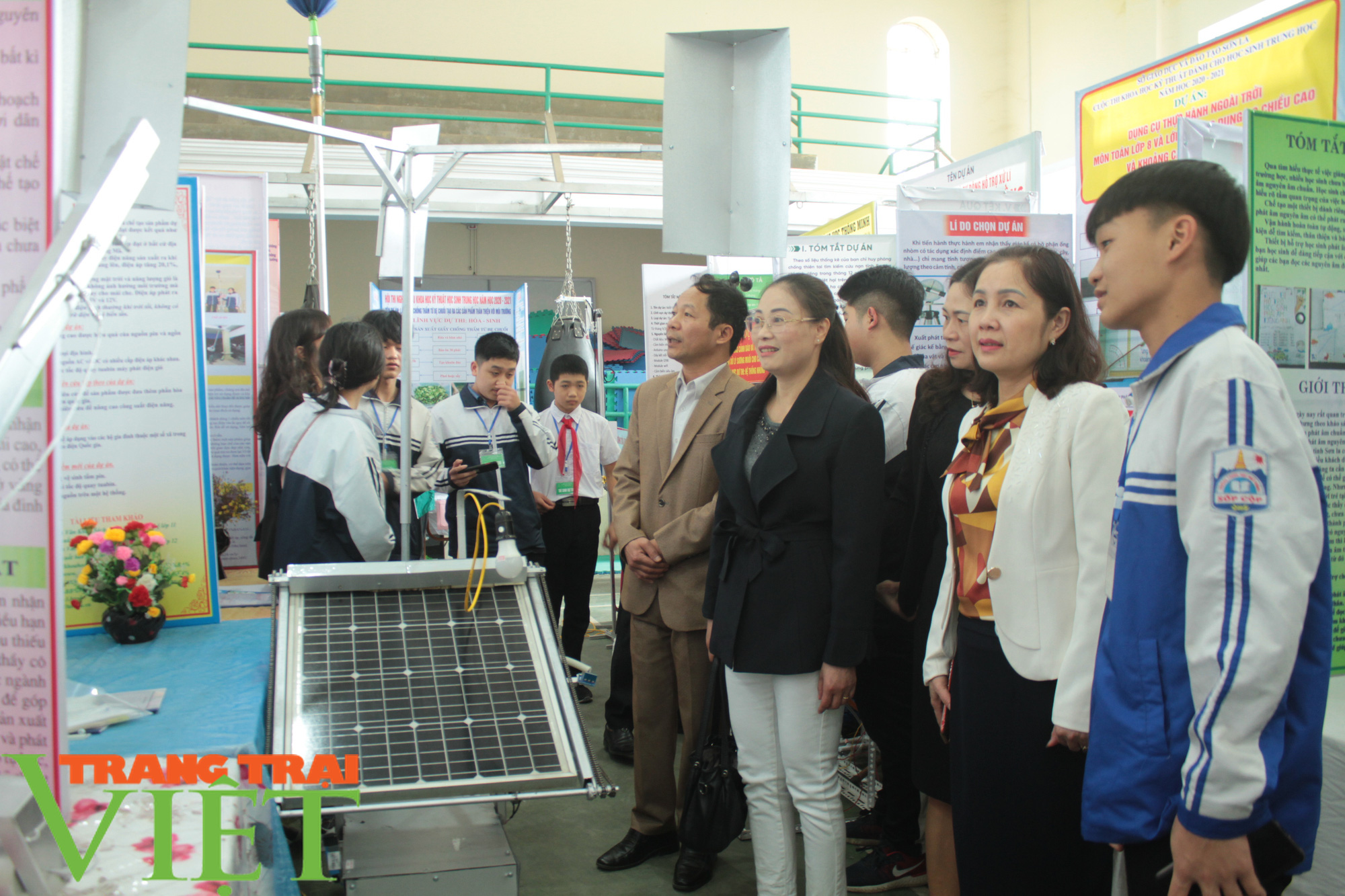 Sơn La: 81 dựa án đoạt giải Cuộc thi khoa học kỹ thuật cấp tỉnh - Ảnh 4.